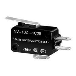 NV-16Z2/21Z2 Long Lever Micro switch