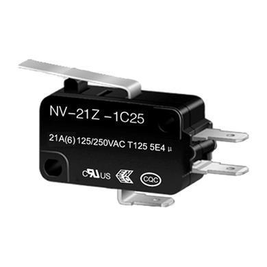 NV-21Z2 long lever snap action switch
