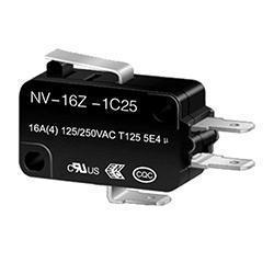 NV-16Z/21Z Short Lever Micro switch