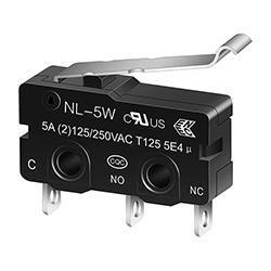NL-5W/10W R-Shape Miniature Micro switch