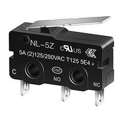NL-5Z/10Z Miniature Micro switch