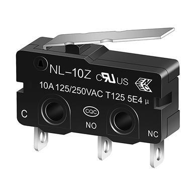 NL-10Z miniature snap action switch