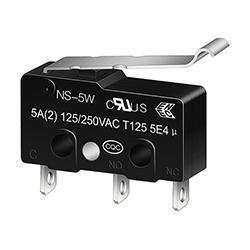 NS-5W/10W R-Shape Lever Micro Switch