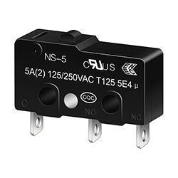 NS-5/10 Push Button Micro Switch