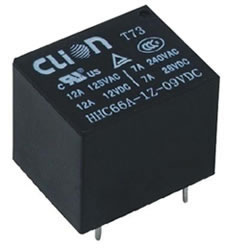 Miniature PCB Relay HHC66A (T73)